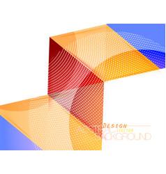 Colors triangle shape scene vector