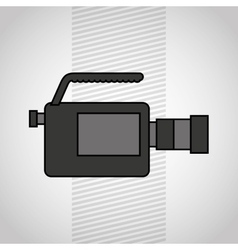 Video camera design vector