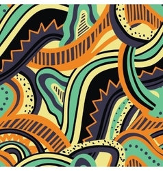 Abstract colorful seamless pattern vector image
