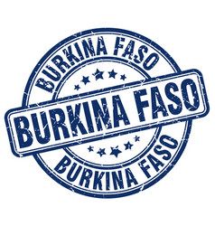 Burkina faso stamp vector