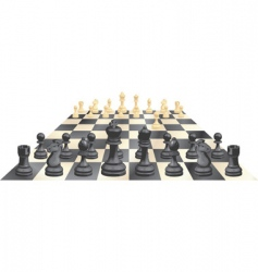 game of chess vector image vector image