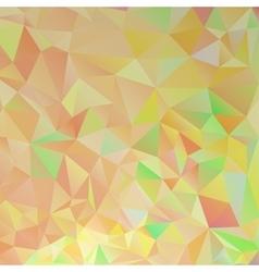 Orange Polygon Background vector image vector image
