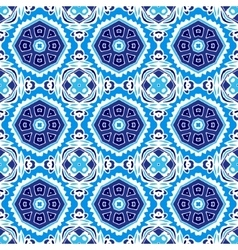 seamless ornamental pattern for fabric vector image vector image