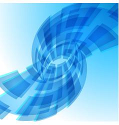 Blue digital background for creative design vector