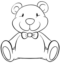 Teddy bear vector