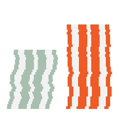 Chip stack vector image