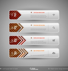 Design elements infographics layout and web pages vector