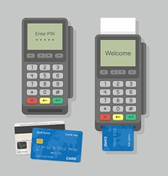 Payment Terminal vector image vector image