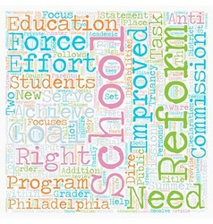 School reform is hot topic for philadelphia vector