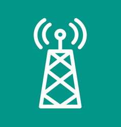Signals tower i vector