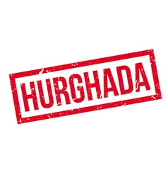 Hurghada rubber stamp vector