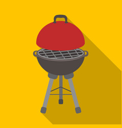 Grill for barbecuebbq single icon in flat style vector