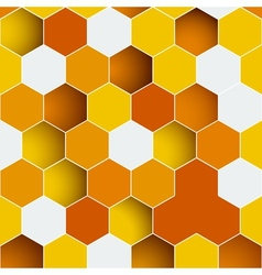 Background made of colorful hexagons vector