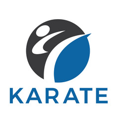 Martial arts design vector