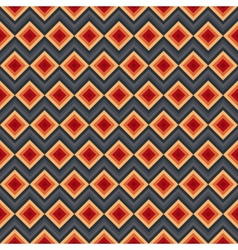Modern elegant zig zag and rhombus seamless vector image vector image