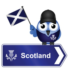 COUNTRY SIGN SCOTLAND vector image