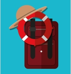 Summervacations and travel vector