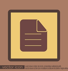 Page of the document vector