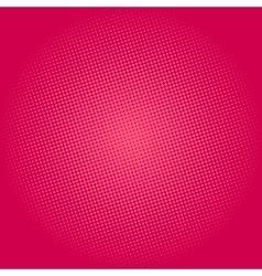 Dots on Pink Background Pop Art Background vector image