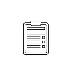 Application form line icon edit vector