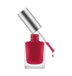 nail polish realistic vector image vector image