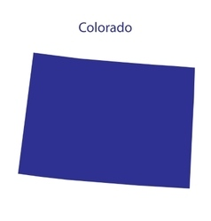 United states colorado vector