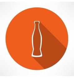 beverage bottle vector image