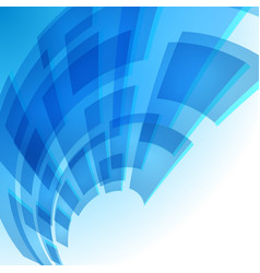 Abstract blue digital background for creative vector