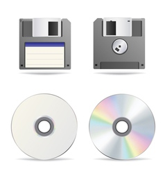 floppy disc vector image vector image