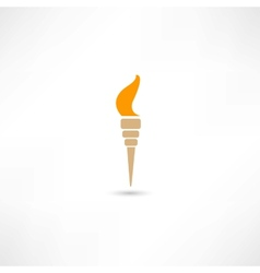 torch vector image