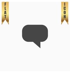 Quote icon vector image