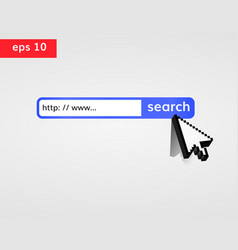 search in web vector image