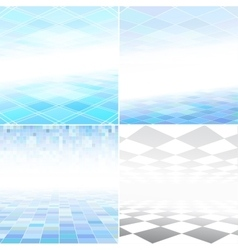 Collection of abstract copyspaces vector