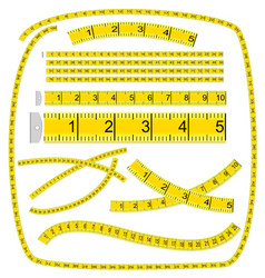 measuring tape vector image