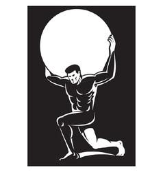 Atlas lifting sphere ball vector