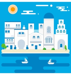 Greece island vector
