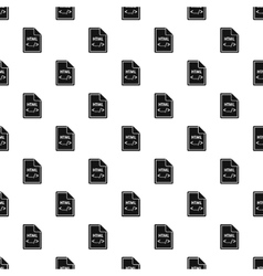 Html file pattern simple style vector
