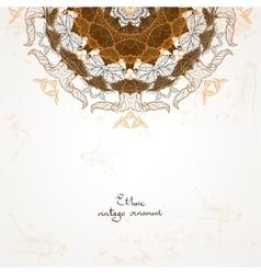 Beautiful ethnic background vector image