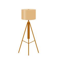 colorful interior lamp light icon vector image
