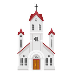 traditional christian catholic faith church vector image