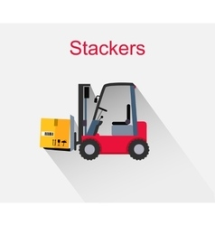 Stackers icon design style flat vector
