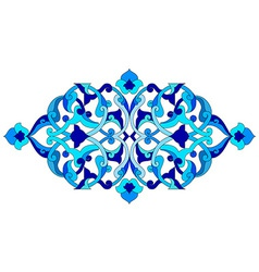 Artistic ottoman pattern series sixty five vector