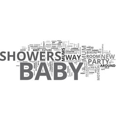 baby showers fabulous idea for bikini mums to be vector image vector image