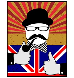 British day vector image