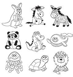 Cartoon toys vector