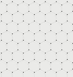 Hexagonal connections vector