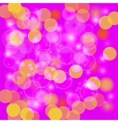 Pink Blurred Light Background vector image