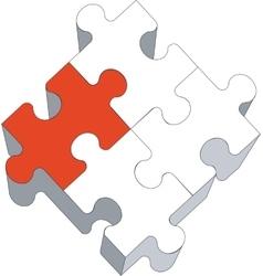 puzzle 03 vector image