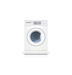 Washing machine isolated vector image vector image