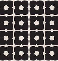 Universal black and white seamless pattern tiling vector image